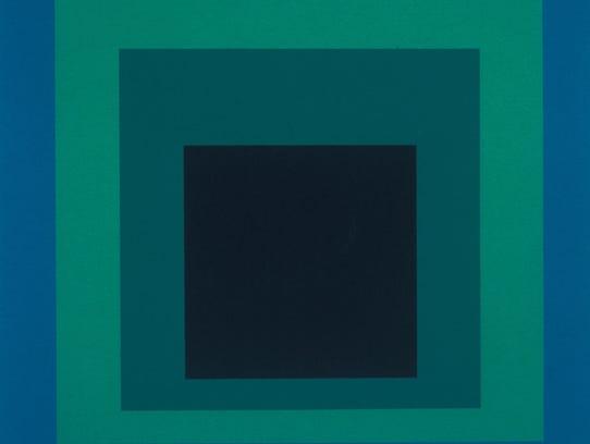 "Josef Albers (American born Germany, 1888-1976), ""Homage"