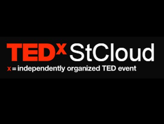 The TEDx St. Cloud logo. The Oct. 12 event will be