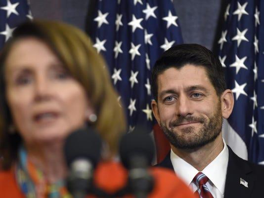Paul Ryan, Nancy Pelosi