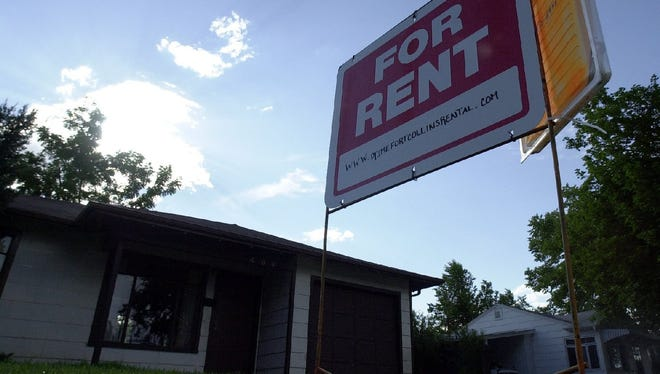A rental in Fort Collins is pictured in 2016.