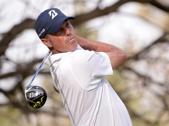 Matt Kuchar charges up WGC-Mexico leaderboard a week after caddie debacle