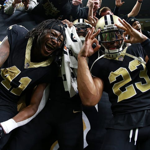 Kamara, Lattimore aim to go from Rookies of the Year to Players of the Year