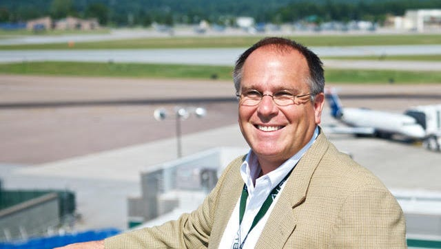 Burlington International Airport Avian Director Gene Richards.