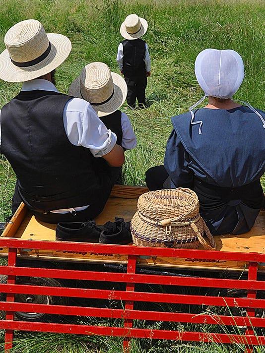 LOGO Amish family