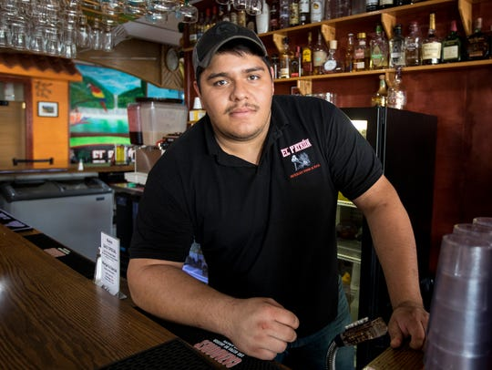 Cesar Lopez.opened El Patron last fall at the age of
