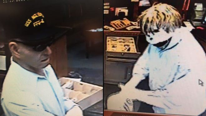 Two men robbed a bank at 26th Street and Sertoma Avenue on Tuesday morning.