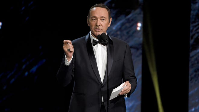 Kevin Spacey on Oct. 27, 2017, at the BAFTA Los Angeles Britannia Awards in Beverly Hills, Calif.