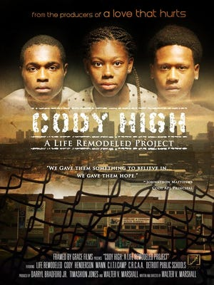 """The """"Cody High"""" documentary premieres Sunday, Oct. 26, at the Redford Theater. Filmmaker Walter V. Marshall created the documentary."""