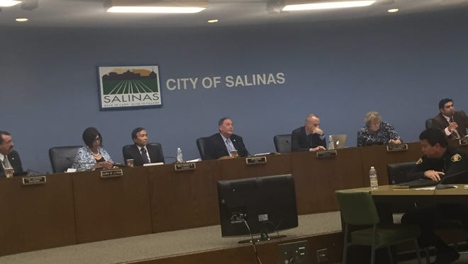 Salinas City Council meeting in July 12.