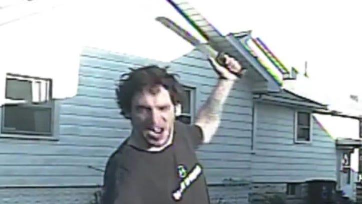 2nd psych exam sought in machete threat