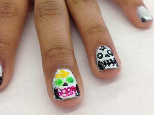 Day Of The Dead Crafts Sugar Skull Nails