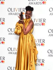 Noma Dumezweni, supporting actress winner for 'Harry