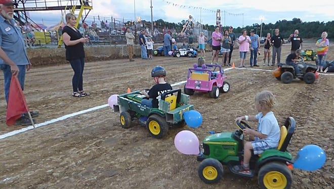 The Spring Fest Kids Power Wheels Derby last year.