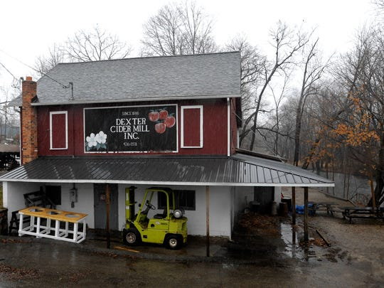 Water power from Mill Creek and the Huron River has been valuable to businesses like the Dexter Cider Mill.