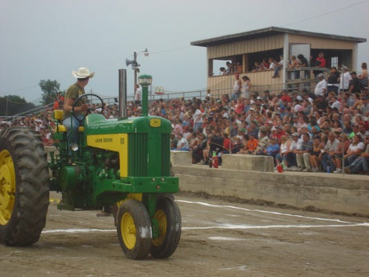 BROOME COUNTY FAIR TRACTOR PULL