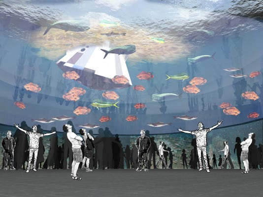 Proposed aquarium
