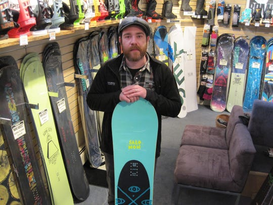 Derek Tiplady of SkiRack in Burlington said the store dropped Burton snowboards this year in favor of other brands.