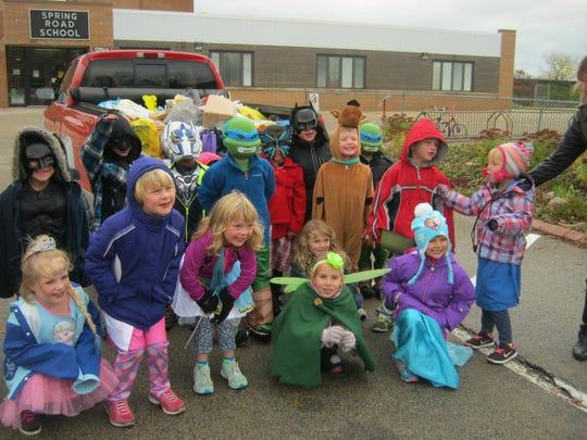Spring Road Elementary School, Neenah, kindergarten