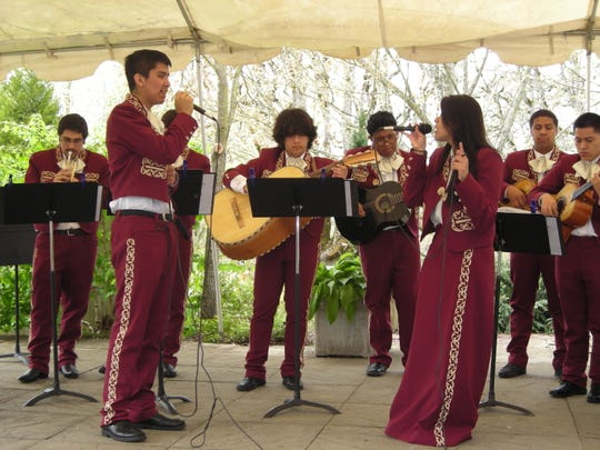 Woodburn High School Mariachi Band will perform during Earth Day at The Oregon Garden on Saturday, April 18.