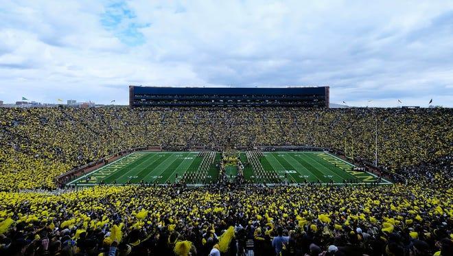 Michigan Stadium on Oct. 17, 2015.