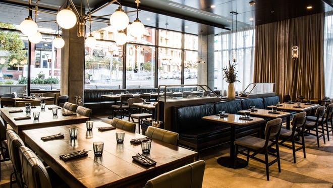 Marsh House is the newest venture from New Orleans chef John Besh, and his first in Nashville. The southern seafood restaurant, located in the new Thompson Nashville hotel in the Gulch neighborhood, is overseen by chef Nathan Duensing.