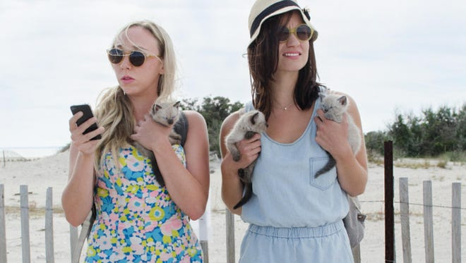 in 'Fort Tilden,' Allie and Harper are inept best friends who head out to Fort Tilden Beach to join the guys they met the night before.