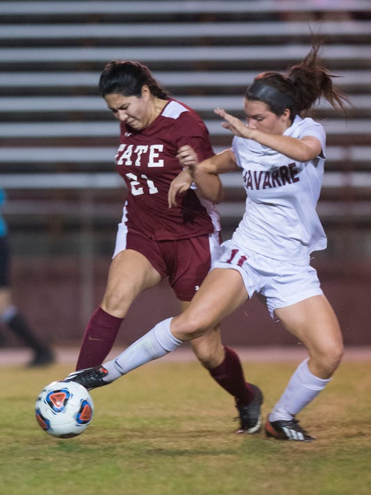 Navarre Vs. Tate Girls Soccer