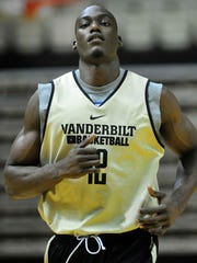 Vanderbilt freshman Djery Baptiste has not played yet this season in order to take a redshirt.