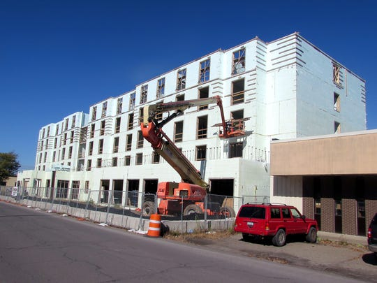A new $20 million HIlton Garden Inn project on Riverside Drive is one of the key drivers in a rebirth of Corning's Northside.