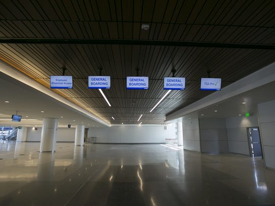 Early improvements of Terminal 3 at Phoenix Sky Harbor