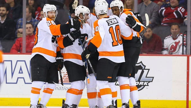 The Flyers, a streaky team all season, are hoping for another one in the winning side.