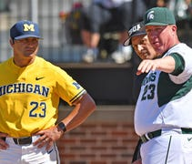 Michigan jumped out early and cruised to an 11-6 v...