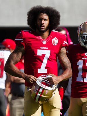 Colin Kaepernick, 49ers quarterback
