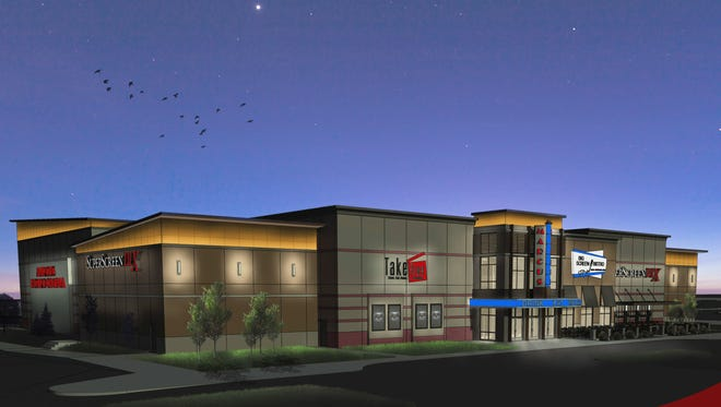 Marcus Theatres Corp. plans to open a BistroPlex cinema and dining complex at Brookfield Square. It would be similar to the first BistroPlex, shown above, that opened in June at Southridge Mall.