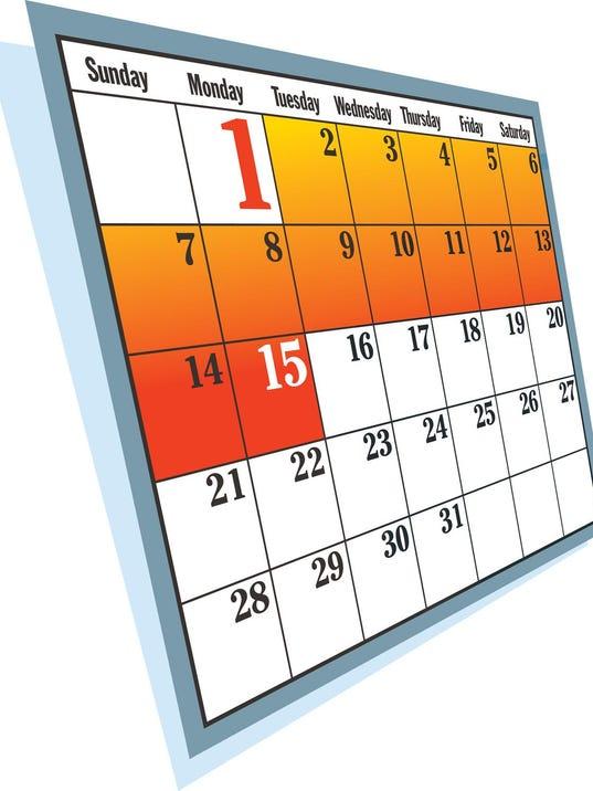 web - business calendar