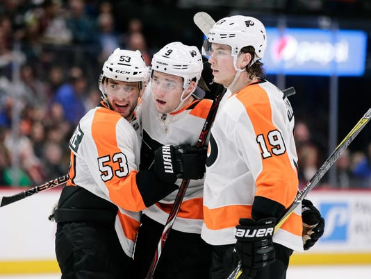 NHL: Philadelphia Flyers at Colorado Avalanche