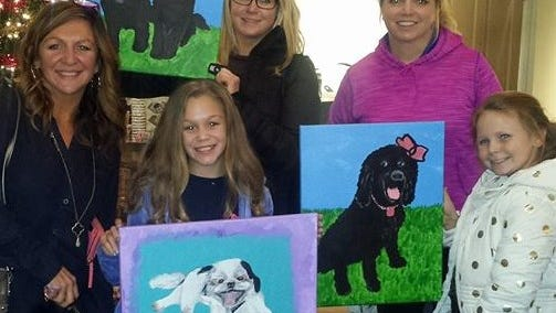 Paint your pet with Paintin' Party