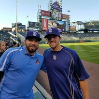 Former River Bat makes waves with Padres