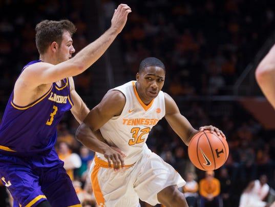 UT Vols basketball: Chris Darrington puts doubts to rest