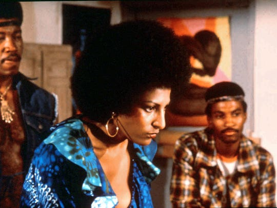 Pam Grier as Foxy Brown.