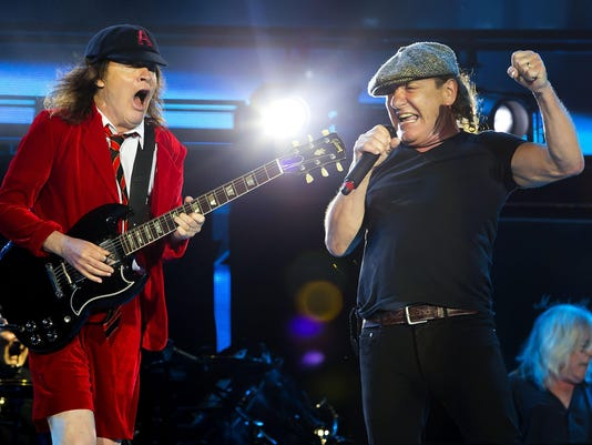 Angus Young, Brian Johnson