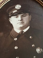 Nutley Fire Capt. Frank C. Zimmerman died in the line