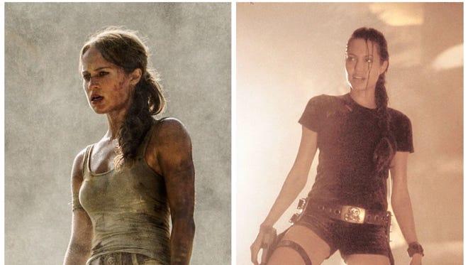 Tomb Raider How Alicia Vikander S Lara Croft Differs From Jolie S