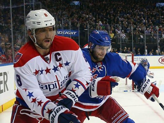 Washington Capitals v New York Rangers - Game Two