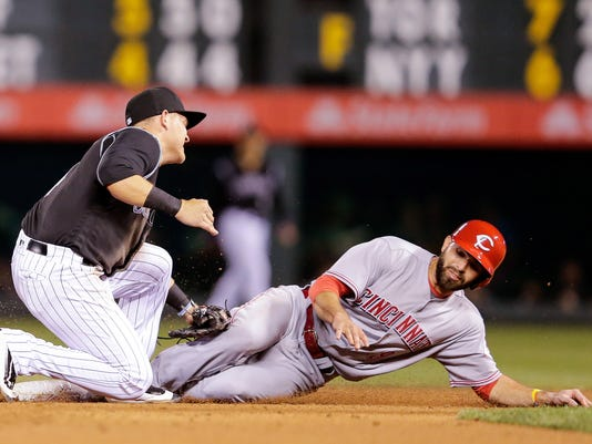 MLB: Cincinnati Reds at Colorado Rockies
