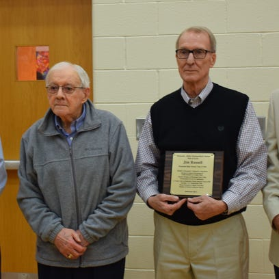 Recently inducted into the Plymouth-Shiloh Hall of