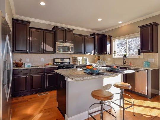 Jones Co. homes in Heartland Reserve include kitchen