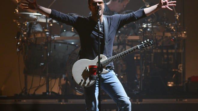 Eric Church performs at the Resch Center in Ashwaubenon Nov. 20.