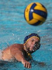 La Quinta and Xavier Prep water polo action on Saturday,
