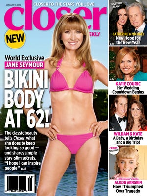 Jane Seymour covers 'Closer Weekly.'